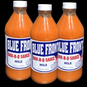 Blue Front Bar-B-Q sauce