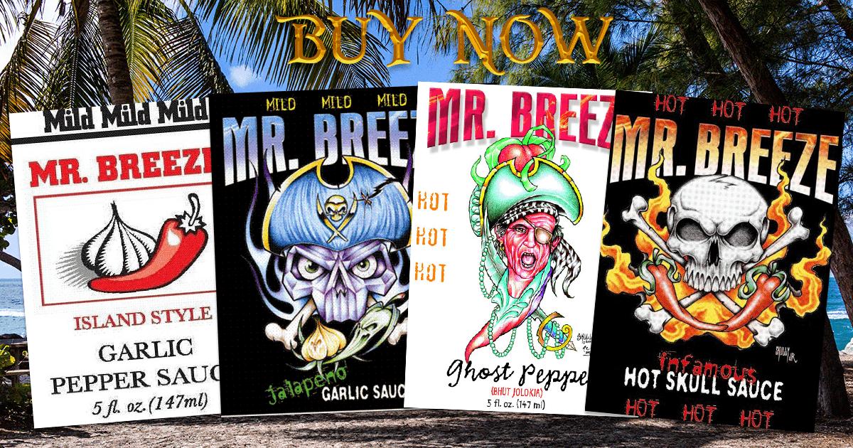 Mr Breeze Hot Sauces